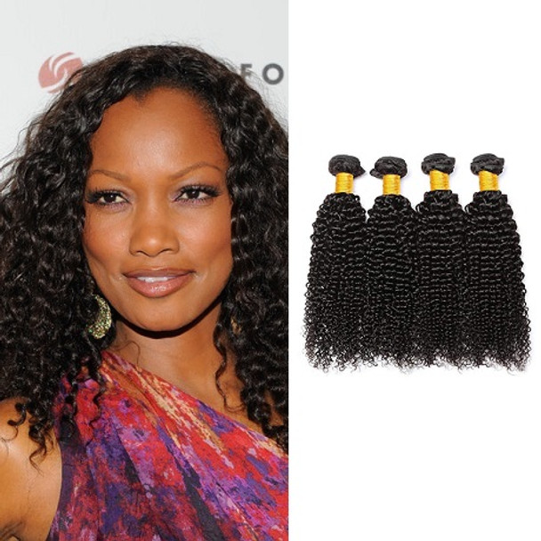4 Bundles Kinky Curly Virgin Brazilian Hair