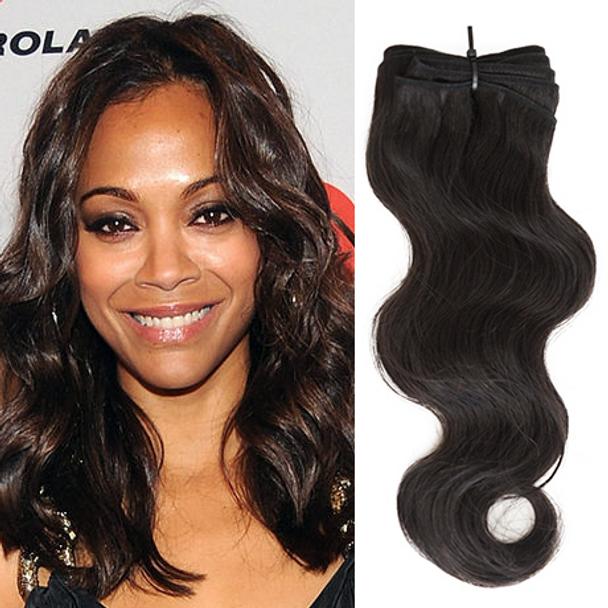 12 Inches Body Wave Virgin Peruvian Hair