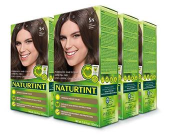 Naturtint Permanent Hair Color, 5N Lt. Chestnut Brown - 5.6 fl oz (6 pack)