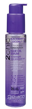 GIOVANNI 2Chic Blackberry & Coconut Milk Repairing Super Potion Hair Oil Serum  - 2.5 fl oz