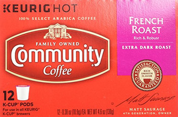 Community Coffee K-Cup - French Roast, 12 ct