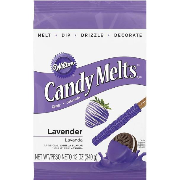 Wilton Lavender Candy Melts, 12-Ounce