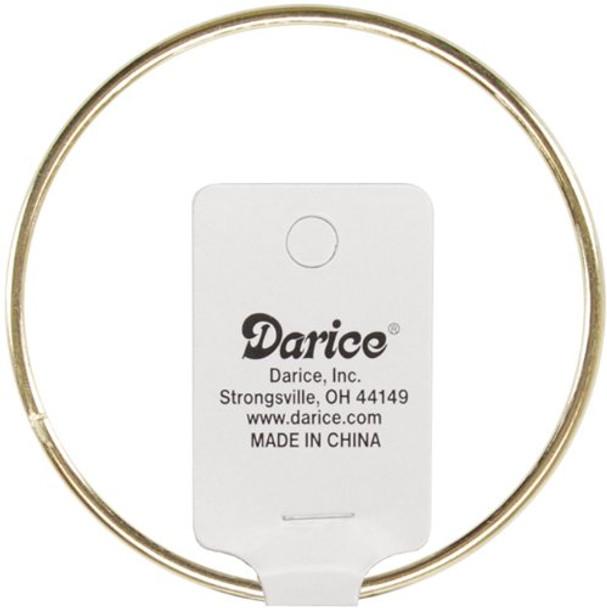 """Darice Gold Metal Ring, 18"""" Metal Ring"""