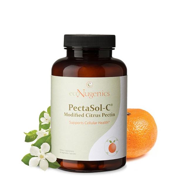 EcoNugenics PectaSol-C Modified Citrus Pectin, 270 Vegetable Capsules