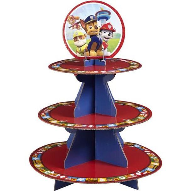 Nickelodeon Paw Patrol Cupcake Treat Stand Holds 24 Cupcakes!