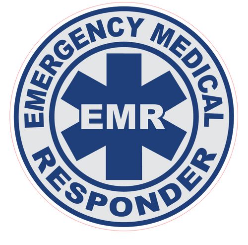 EMR Emergency Medical Responder Vinyl Sticker
