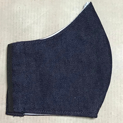 Women/Teen Size Denim Unisex 100% Cotton Face Mask