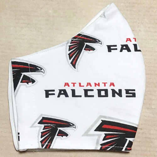Atlanta Falcons 100% Cotton Face Mask