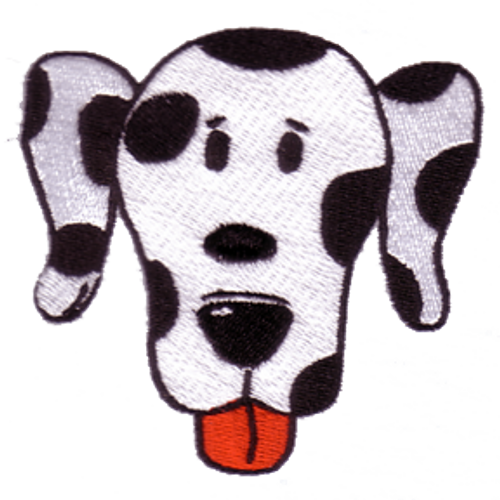 Dalmatian Dog Embroidered Patch