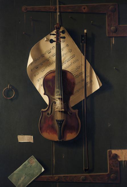 Still Life With Violin Vintage Art Download
