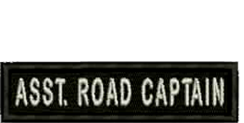 Assistant Road Captain Embroidered Patch