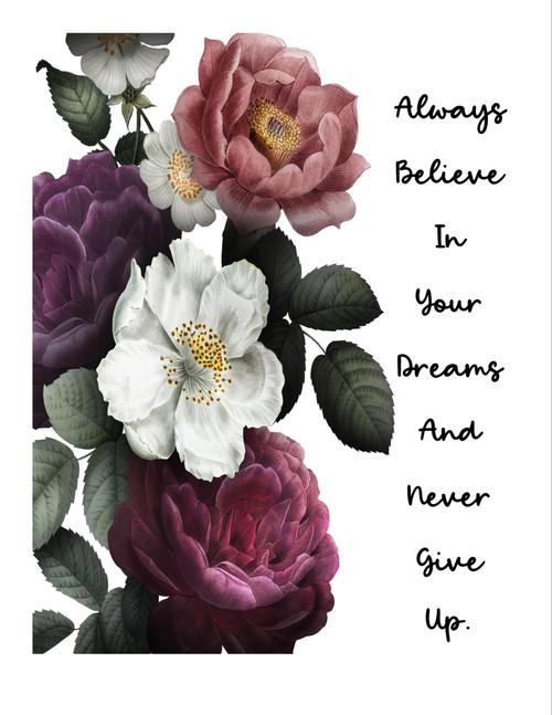 Always Believe In Your Dreams Digital Art Download