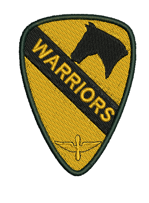 1ST Calvary Aviation Brigade Embroidered Patch