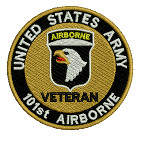 101ST Airborne Veteran Embroidered Patch