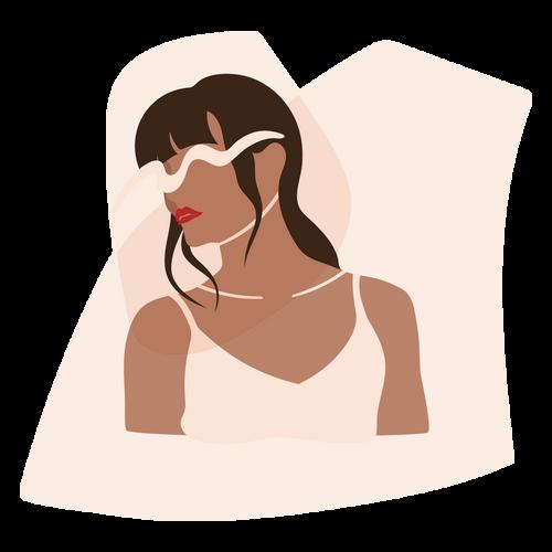 Female Fashionista Wall Art Digital Download