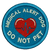 Medical Alert Dog DO NOT PET Embroidered Patch