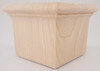 """Square Woodhouse Bun Foot 2 5/8"""" Tall x 3 3/8"""" Wide"""