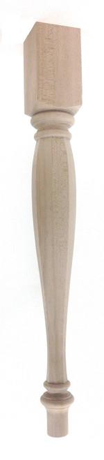 Octagonal Vase Nottingham Dining Table Leg