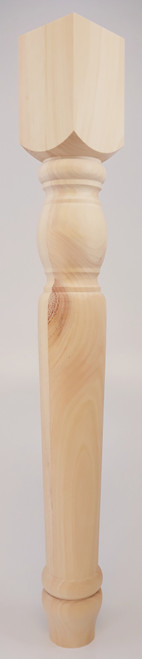 """Cheshire Dining Table Leg - 29"""" Tall x 3 1/2"""" Wide"""