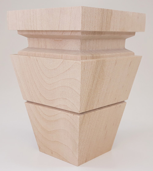 "Catalina Tapered Foot - 5"" Tall x 3 3/8"" Wide"