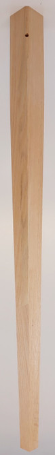 """2 Sided Tapered Leg 29"""" Tall x 1 3/4"""" Wide"""