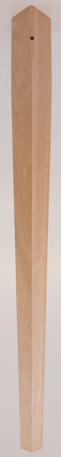 "2 Sided Tapered Leg 24 1/4"" Tall x 1 3/4"" Wide"