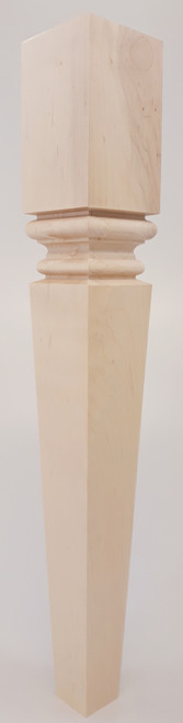 """Modern Square Meridian End Table Leg 21"""" Tall x 3"""" Wide"""