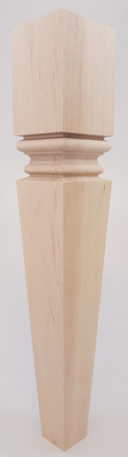"""Modern Square Meridian End Table Leg 21"""" Tall x 3 1/2"""" Wide"""