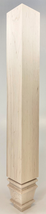 """Dining Table Leg - 29"""" Tall x 3 1/2"""" Wide - Square Baymont"""