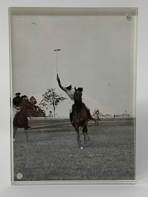 Polo Match Photo From Toowoomba 1937 Australia