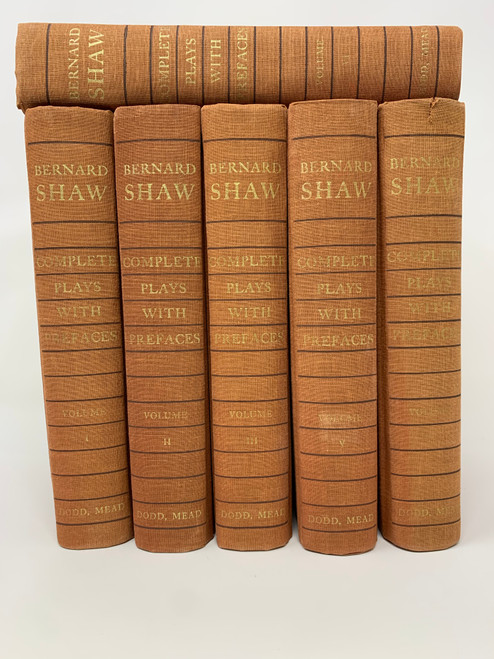 Bernard Shaw Complete Plays With Prefaces I- VI