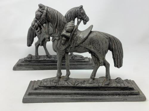 2 Horse Doorstops- Vintage- Priced Each