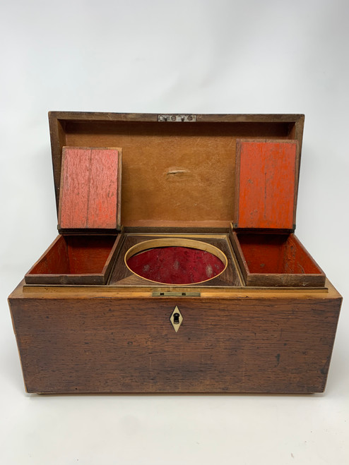 Antique English Tea Box