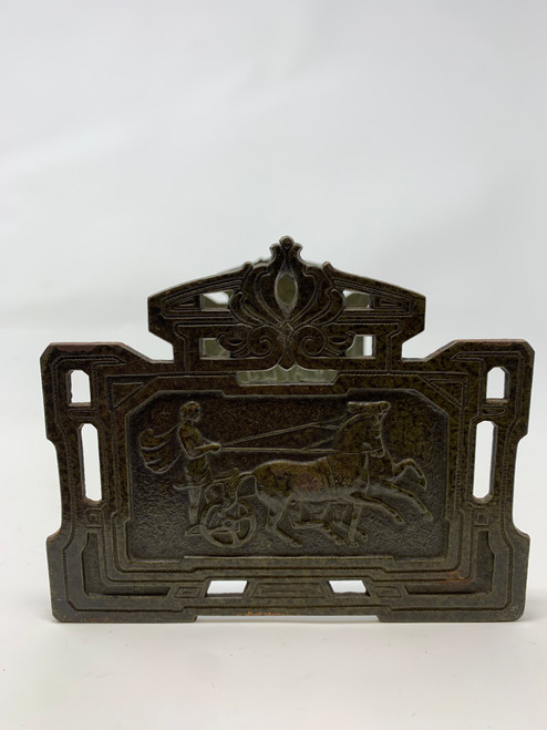 Bookends Roman Chariot Race Sliding Bookends