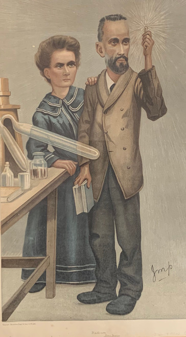 Spy Print Madame Curie! English Vanity Fair 1907