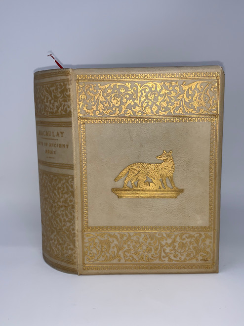 The Lays of Rome- Copyright Edition 1851- Antique
