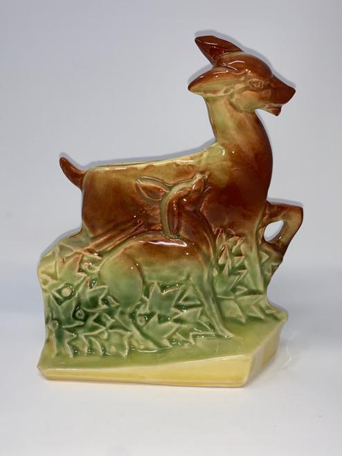 McCoy Deer Vase- Mid Century