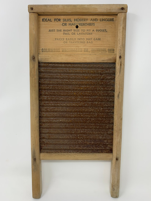 Hilarious Washboard Advertised As Travel Size!
