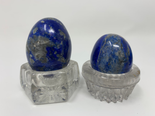 Two Lapis Eggs