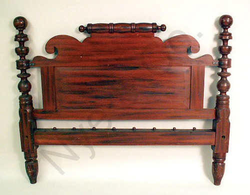 Antique Cannonball Bedstead
