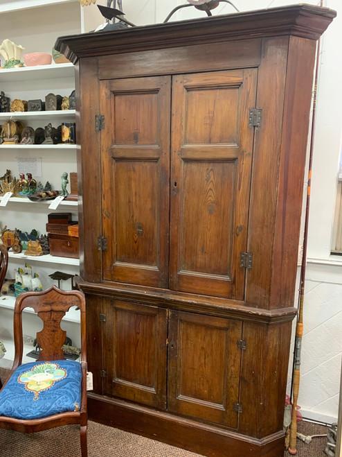 Late 18th Century Corner Cupboard