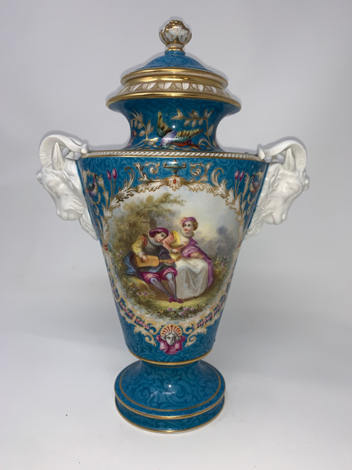 Antique Vase - One Of A Set of Two