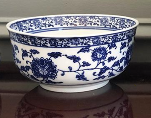 Blue and White Chinese Style Bowl