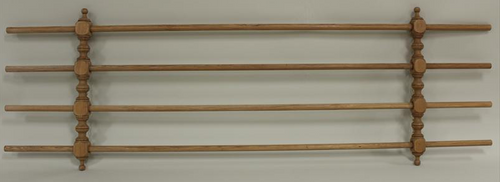 "A 19th Century 84"" Pine Drying Rack"