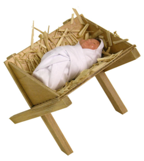 Byers Choice Baby Jesus in the Manger*