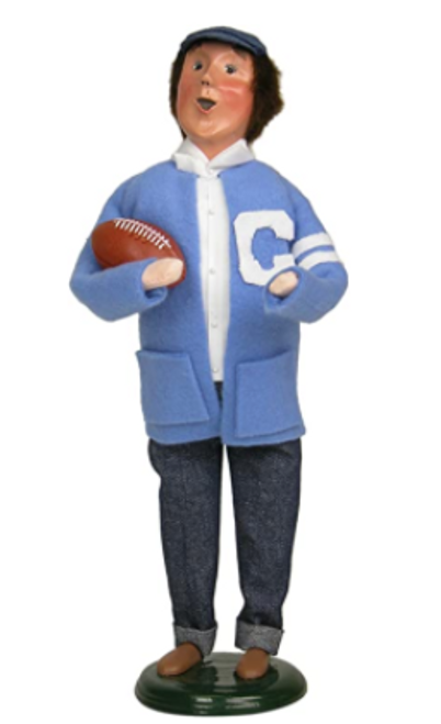 Sock Hop Boy Missing Football- price reduced 50% *