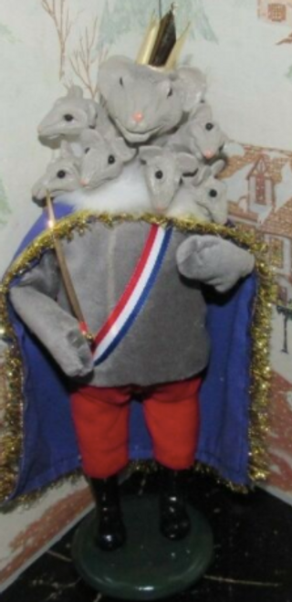 Byers Choice The Mouse King From The Nutcracker* Signed!