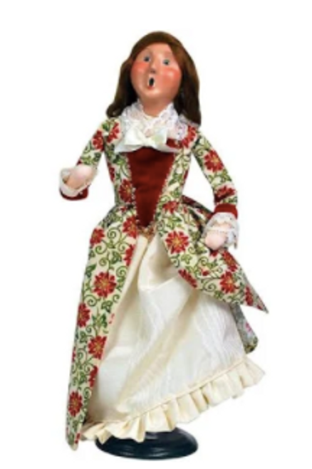 Byers Choice 9 Ladies Dancing From The 12 Days Of Christmas Collection**