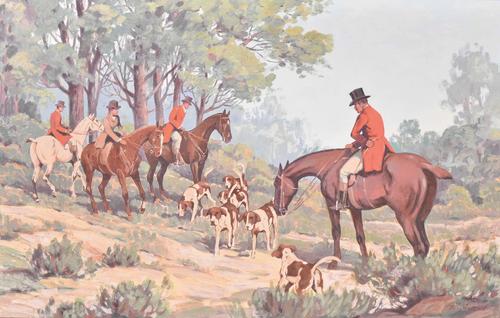 Tillman Parker Goodan - Hunt Scene