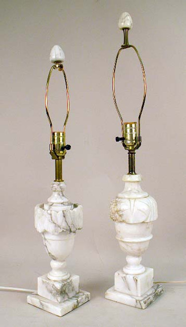 Alabaster/Marble Lamps - Priced Each
